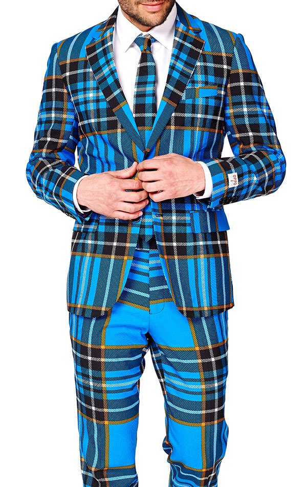OppoSuits Braveheart Plaid Suit Ebay Online Countdown Package Online WCY2v